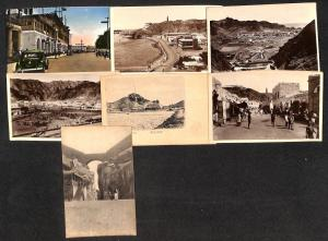 Yemen Aden lot 7 vintage postcards