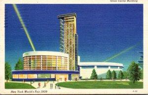 New York World's Fair 1939 The Glass Center Building 1939