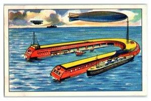 Artificial Island, Future Fantasies, Echte Wagner German Trade Card *VT31R