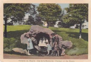 Fountain of the Rosary - Cap-de-la-Madelaine - Quebec, Canada - WB
