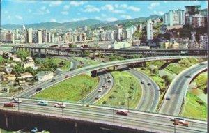 Caracas Venezuela - an octopus of roads in the city, 1960s