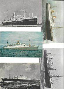 Holland America Line - Steamer Ships Postcard Lot of 10 - 01.11