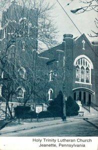 Pennsylvania Jeanette Holy Trinity Lutheran Church 1986