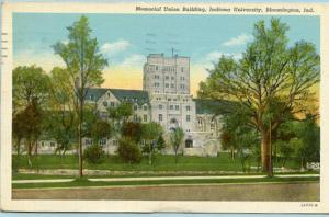 IN - Bloomington, Indiana University, Memorial Union Building