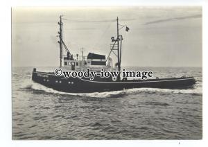 cd0267 - Dutch Wijsmuller Tug - Friesland - postcard