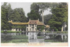 Versailles Parc du Petit Trianon Maison de la Reine Postcard