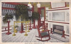Pennsylvania Washington Auld Hotel