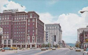 Broad Street,  showing The Read House and the New Read House Motor Inn,  Chat...