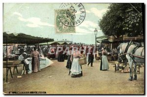 Old Postcard Trouville The Walking Horse