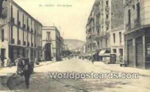 Alger Algeria, Africa, Rue de Lyon  Rue de Lyon