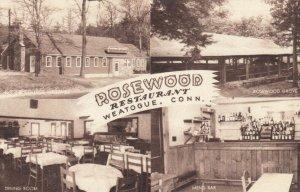 WEATOGUE , Connecticut , 1930s; Rosewood Restaurant