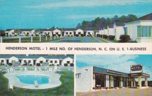 North Carolina Henderson The Henderson Motel
