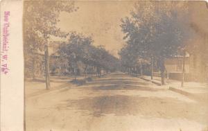 E90/ New Cumberland West Virginia RPPC Postcard 1906 Homes Brick Street 4