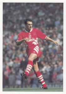 Neil Ruddock Liverpool Football Club Defender Postcard