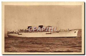 Old Postcard Navigation Company Paquet Marseille Chella