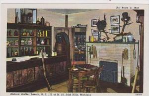 Michigan Irish Hills Stagecoach Barn Historic Walker Tavern Bar Room OF 1832