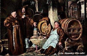 Humour In The Monastery Wine Cellar