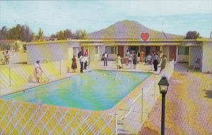 Murrays Desert Heart Motel Pool Apple Valley California