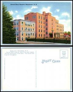 NEW HAMPSHIRE Postcard - Manchester, Sacred Heart Hospital N14