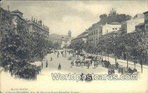 Plaza Nueva Spain Tarjeta Postal Unused