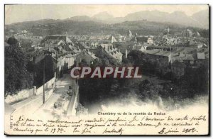 Old Postcard Chambery Montee view of the Recluse
