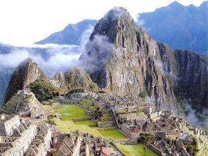 Giant Postcard Machu Picchu, Peru, South America, 8x6inch 203x152mm OS108