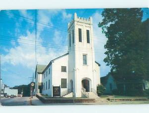 Unused Pre-1980 CHURCH SCENE Marietta Georgia GA G3115