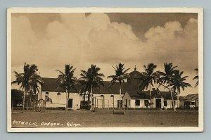 Catholic Church Guam RPPC Postcard