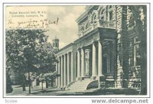 Tucker Memorial Hall,W & L University,Lexington,VA,1907