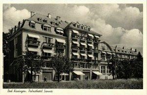 CPA AK Bad Kissingen- Palasthotel Sanner GERMANY (887181)