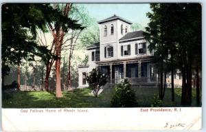 EAST PROVIDENCE, Rhode Island  RI    ODD FELLOWS HOME  ca 1900s  UDB  Postcard