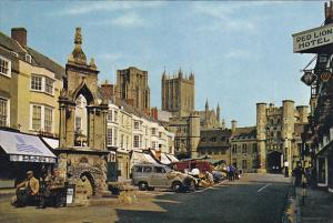 England Somerset Wells The Market Place