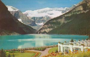 Lake Louise Mount Lefroy and Victoria Glacier Banff National Park Canada