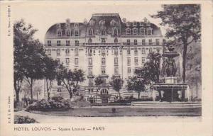 France Paris Hotel Louvois Square Louvois