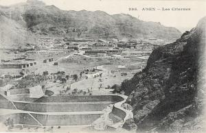 Yemen Aden early postcard