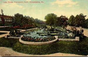 Pennsylvania Philadelphia Fairmount Park Lily Ponds