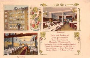 Cheminitz Germany Hotel und Restaurant Vier Jahreszeiten Cheminitz Hotel und ...