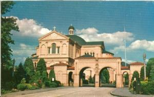 Washington DC The Franciscan Monastery old unused Postcard