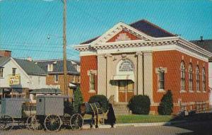 Pennsylvania Intercourse First National Bank &  Amish Wagons