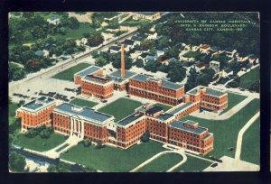 Kansas City, Kansas/KS Postcard, University Of Kansas Hospital, 39th & Rainbow