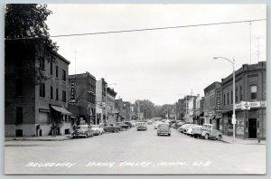 Spring Valley MN Grainbelt Beer~Tribune Newspaper~Bakery~Stockmans RPPC 1940s PC