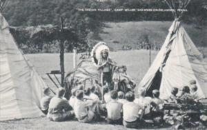 Pennsylvania Shawnee-On-Delaware The Indian Village Camp Miller