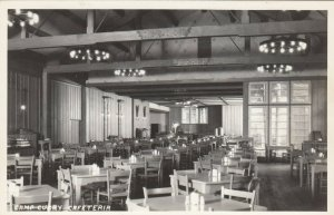 RP: YOSEMITE , California , 1930-40s ; Camp Curry Cafeteria