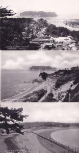 Famous Place Of Enoshima Japan 3x Old Postcard s