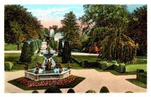 Rhode Island Newport  The Elms, Fountain and Gardens