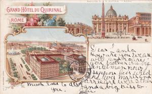 Grand Hotel du Quirinal , ROME , Italy , PU-1904