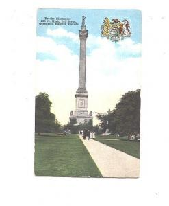 Canadian Shield, Brocks Monument Queenston Heights Ontario, FH Leslie