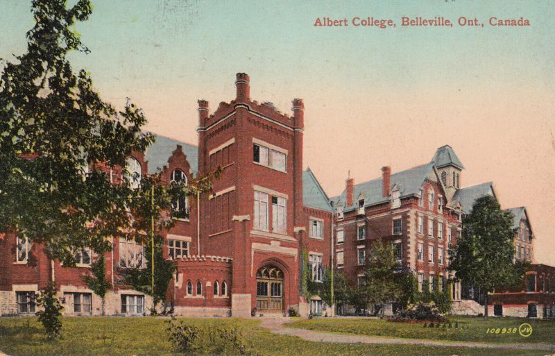 BELLEVILLE, Ontario, Canada, PU-1914; Albert College