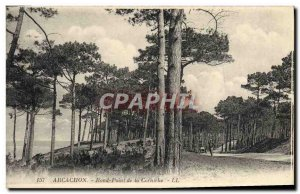 Old Postcard Arcachon Rond Point De La Corniche