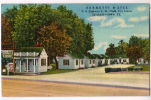 Burnett's Motel, Elizabethtown KY